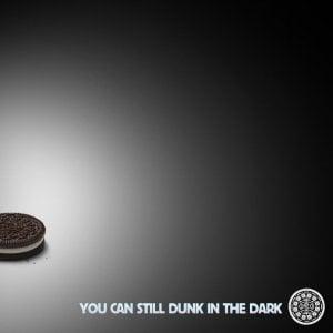 oreo dunk in the dark superbowl ad
