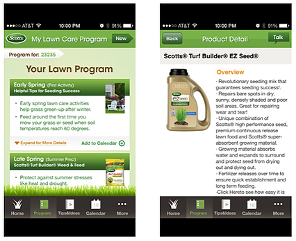 Scotts Lawn app