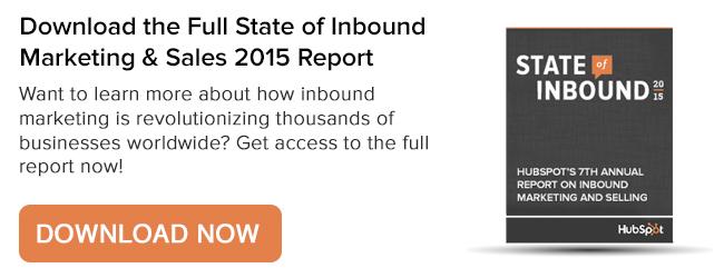 State of Inbound Marketing Report
