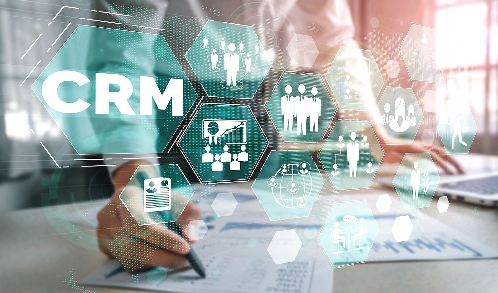CRM-concept