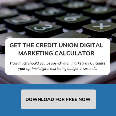 Credit Union Digital Marketing Calculator