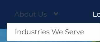 Industries we serve example