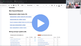 Manufacturer Webinar Content Marketing Step by Step
