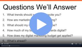 Credit union marketing budgets webinar
