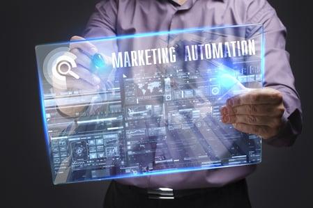 Manufacturer using marketing automation