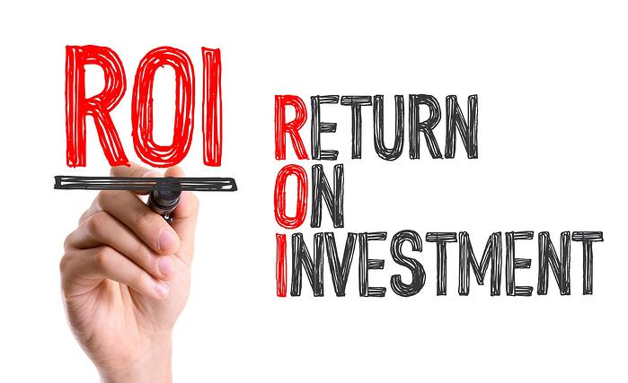 Manufacturing ROI return on investment