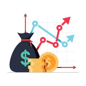 digital marketing budget for credit union illustration