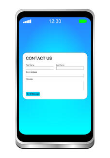 Contact us form