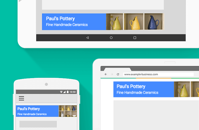 Search and display ads