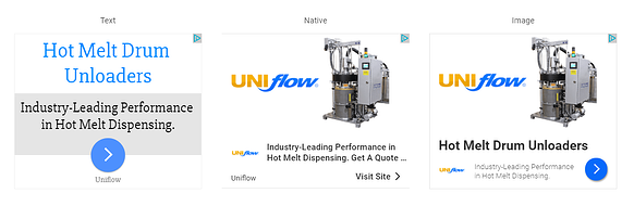 Advertising for an Equipment Manufacturer