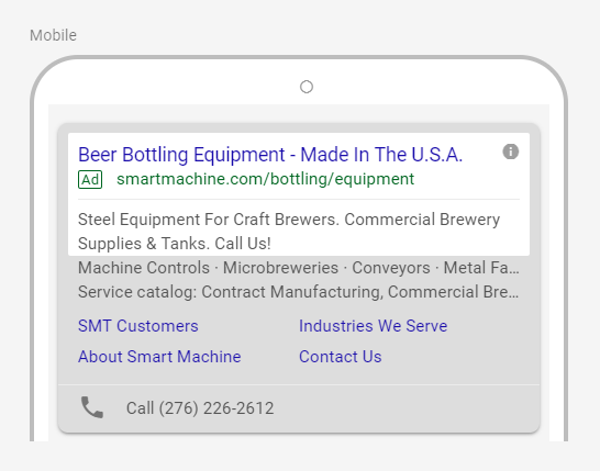 Google Pay-Per-Click Strategy for Manufacturers