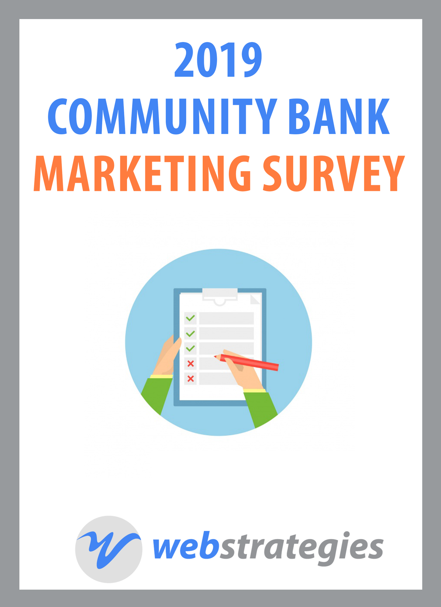 Community Bank Marketing Survey 2019