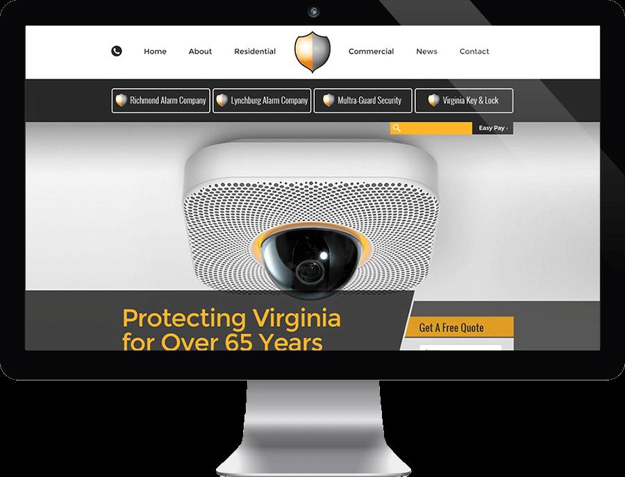 Security Company Web Design