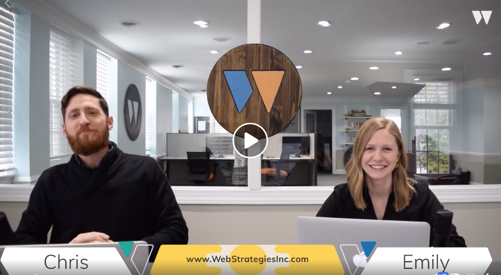 WebStrategies Facebook Live