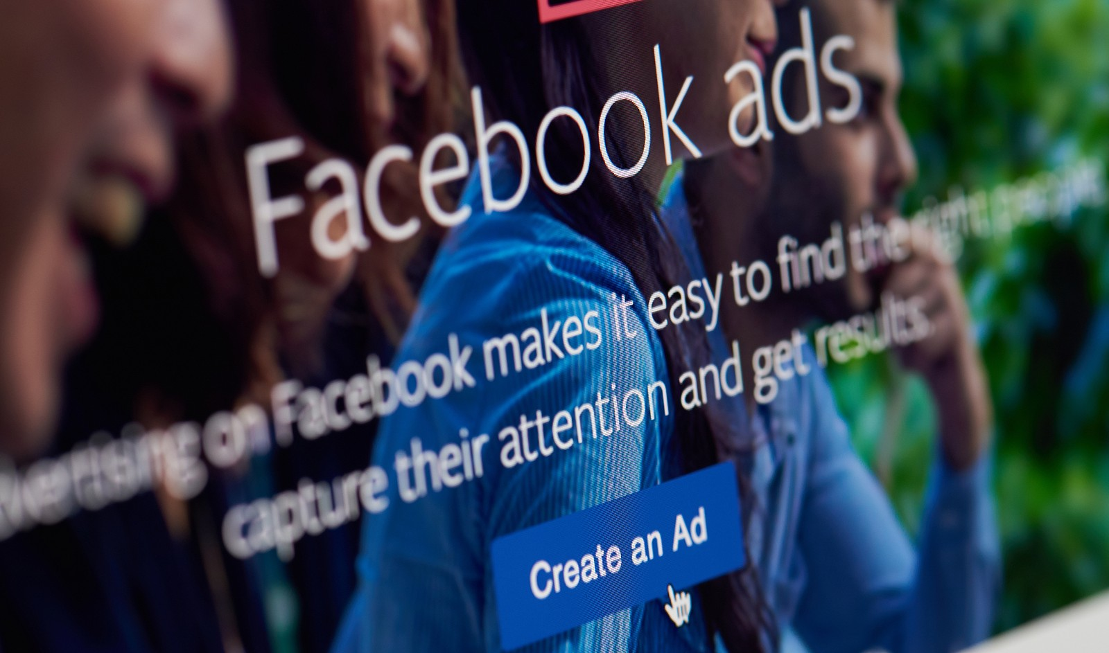 Using social media advertising