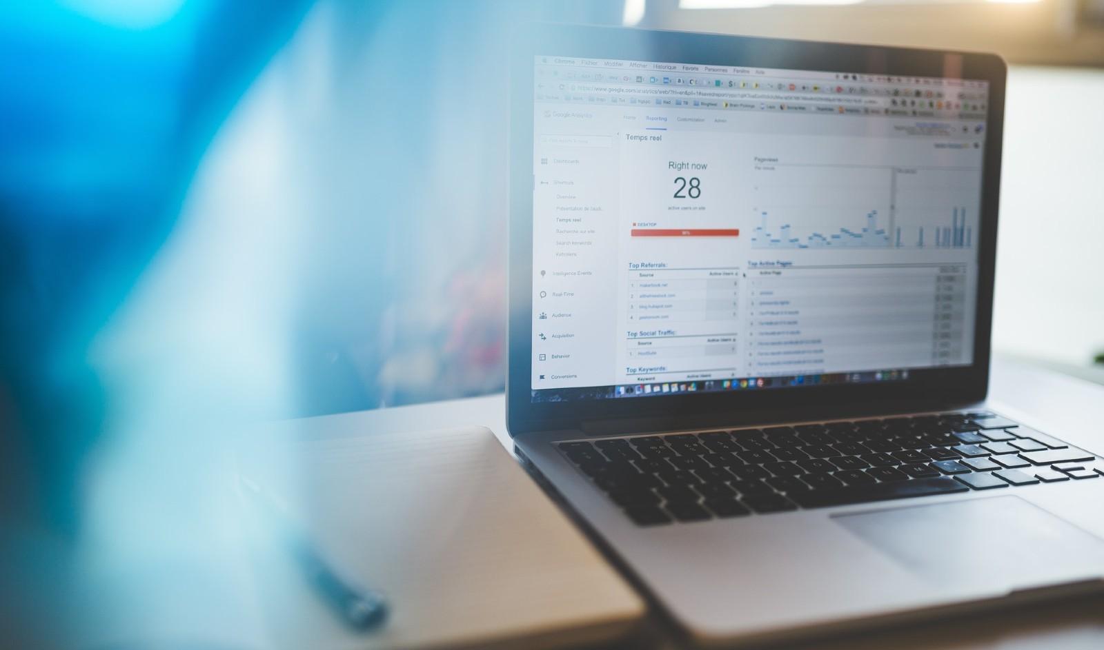 Using Google Analytics with loan origination system